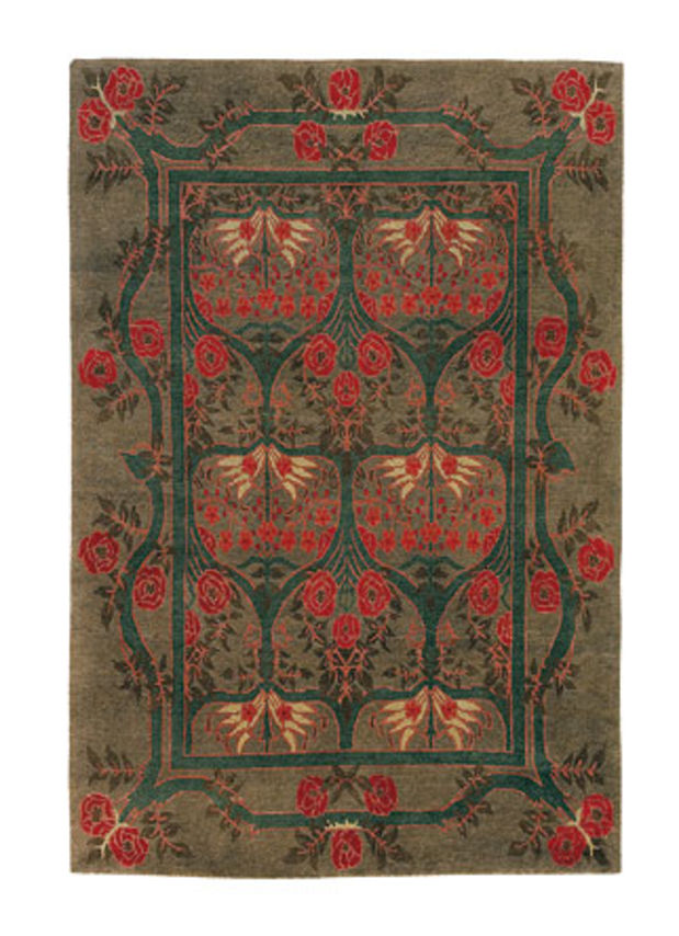 Arts Crafts Revival Textiles Curtains To Carpets Arts Crafts Homes And The Revival