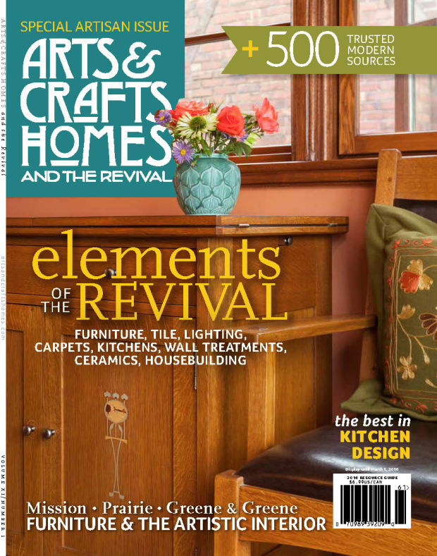 Arts Crafts Homes Annual Resource Guide 2016 Arts