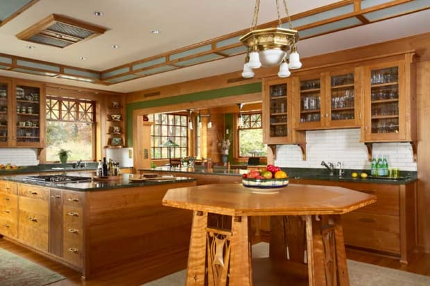 A Kitchen of Art and Craft