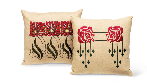 Craftsman Pillow Kits Design For The Arts Amp Crafts House
