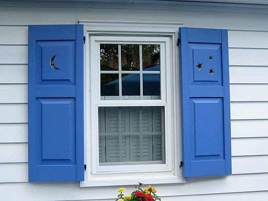 Window shutter classics design for the arts crafts house arts crafts homes online for Arts and crafts exterior shutters