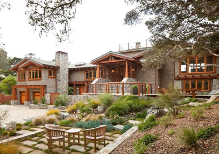 California Echo Design For The Arts Amp Crafts House