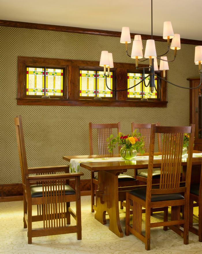 Stickley Dining Room Furniture: Quiet Upgrades A Modern Bungalow Make