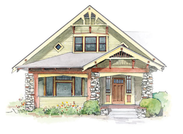 Bungalow Gables Design For The Arts Amp Crafts House