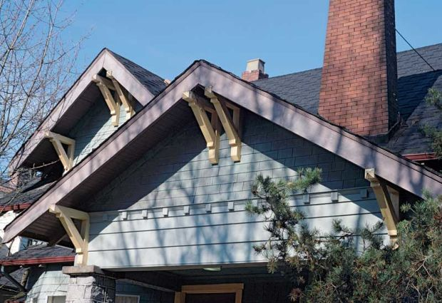Artful Cuts Gable Trim Design For The Arts Amp Crafts