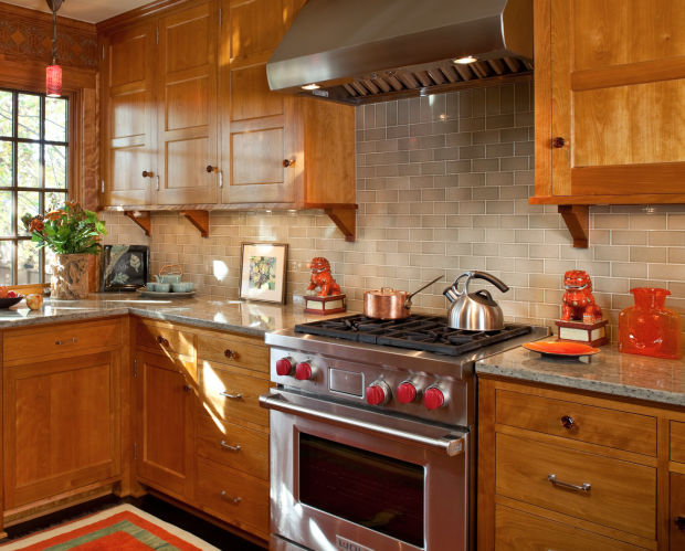 Muted Green Kitchen Cabinets