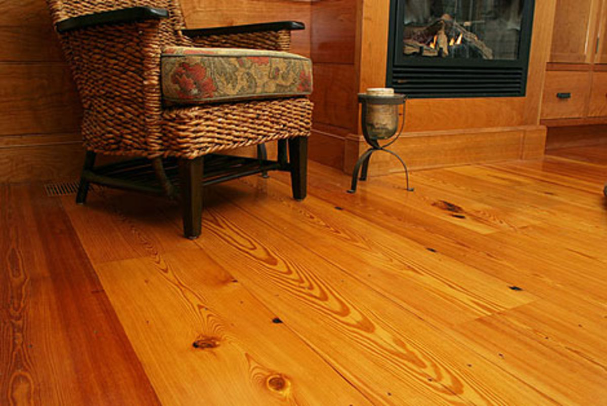 Historic Wood Floor from Longleaf Lumber Inc.