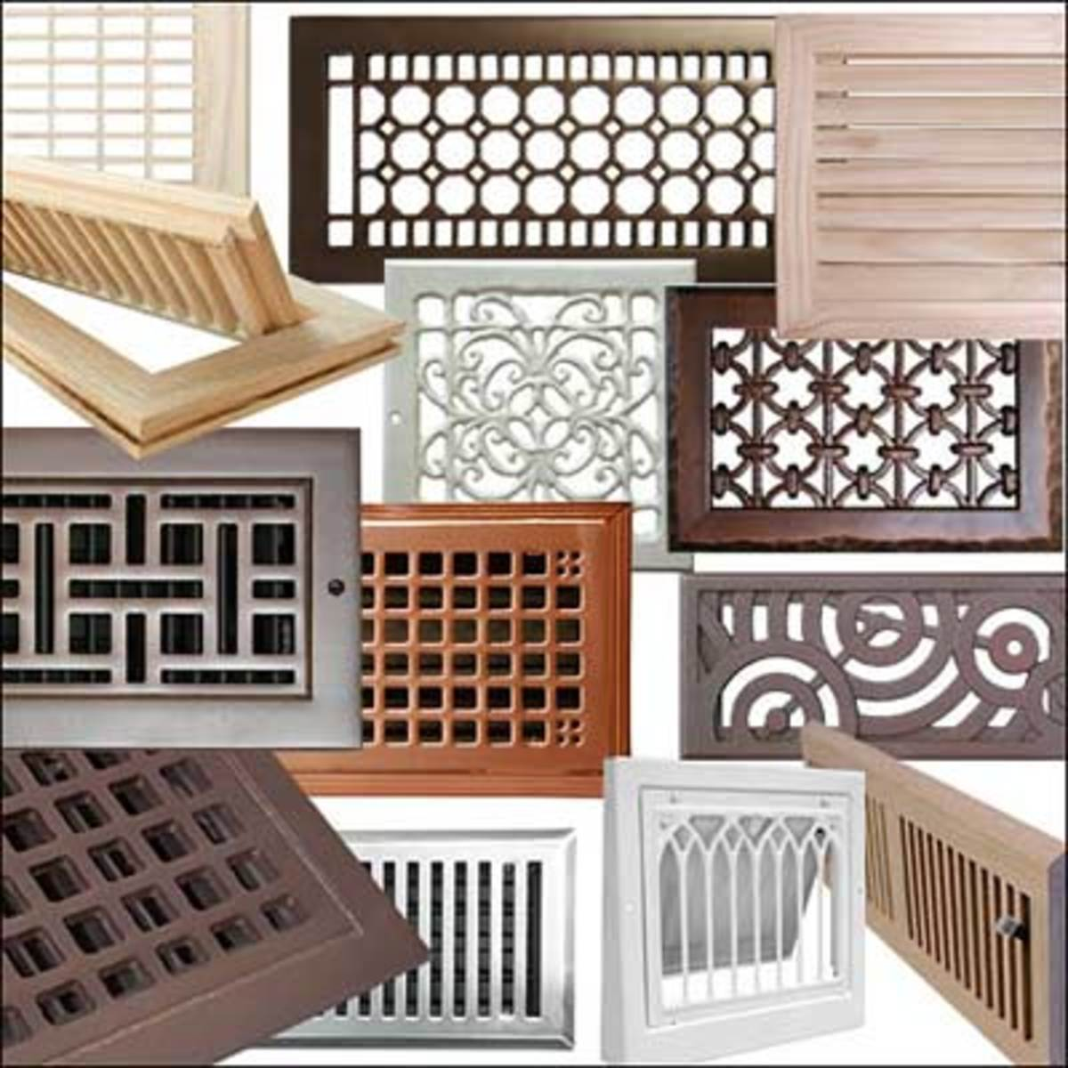 #8F583C HeatRegisters.com Arts & Crafts Homes And The Revival  Most Effective 3635 Heating Vent Covers pictures with 1200x1200 px on helpvideos.info - Air Conditioners, Air Coolers and more