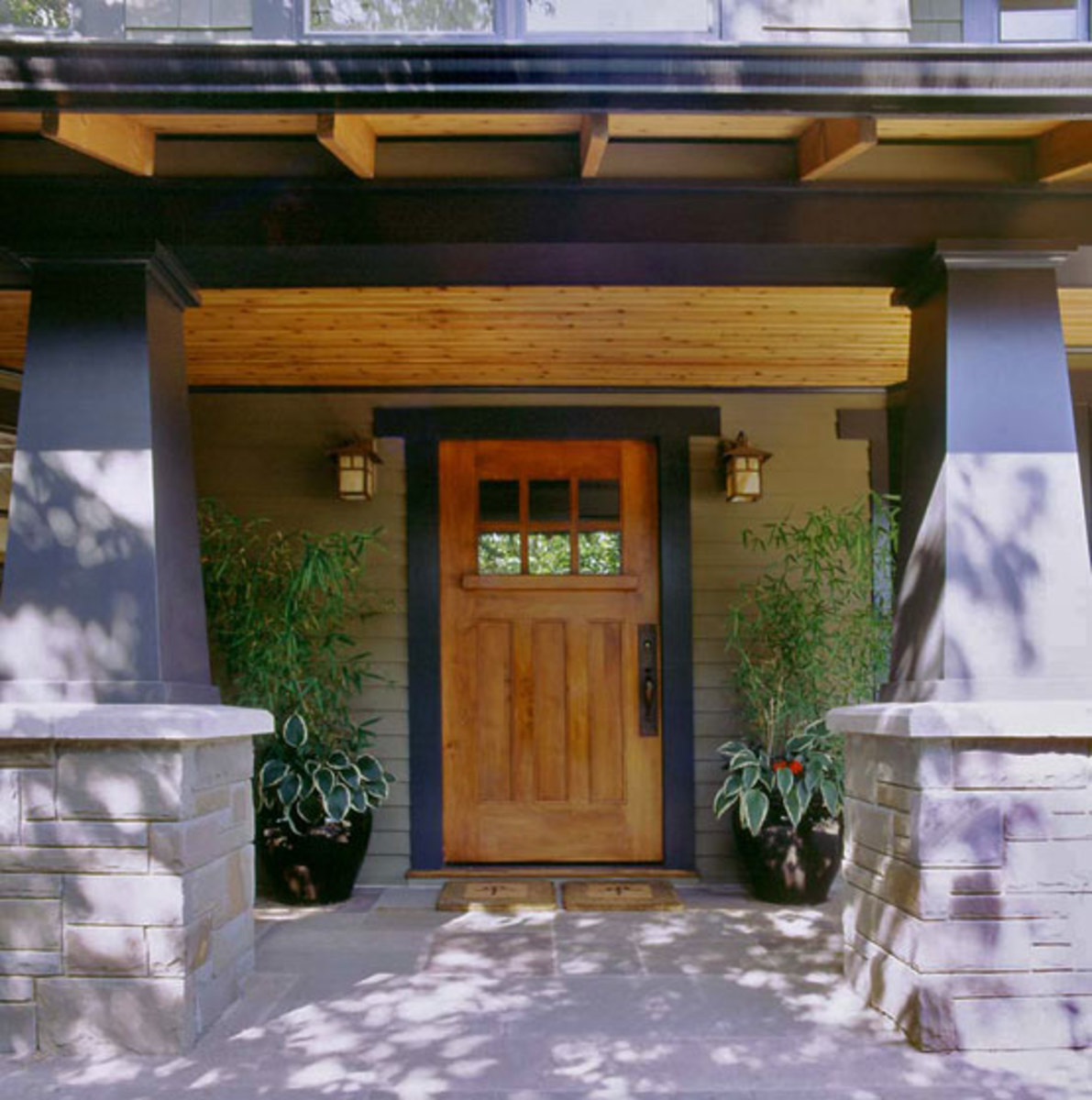 House re imagined craftsman style interiors in a 1969 - Arts and crafts home interior design ...