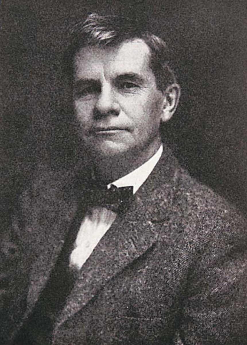 Furniture maker, publisher, entrepreneur Gustav Stickley.
