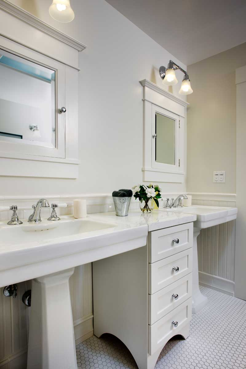 Double Pedestal Sinks Design Ideas, Pictures, Remodel, and ...