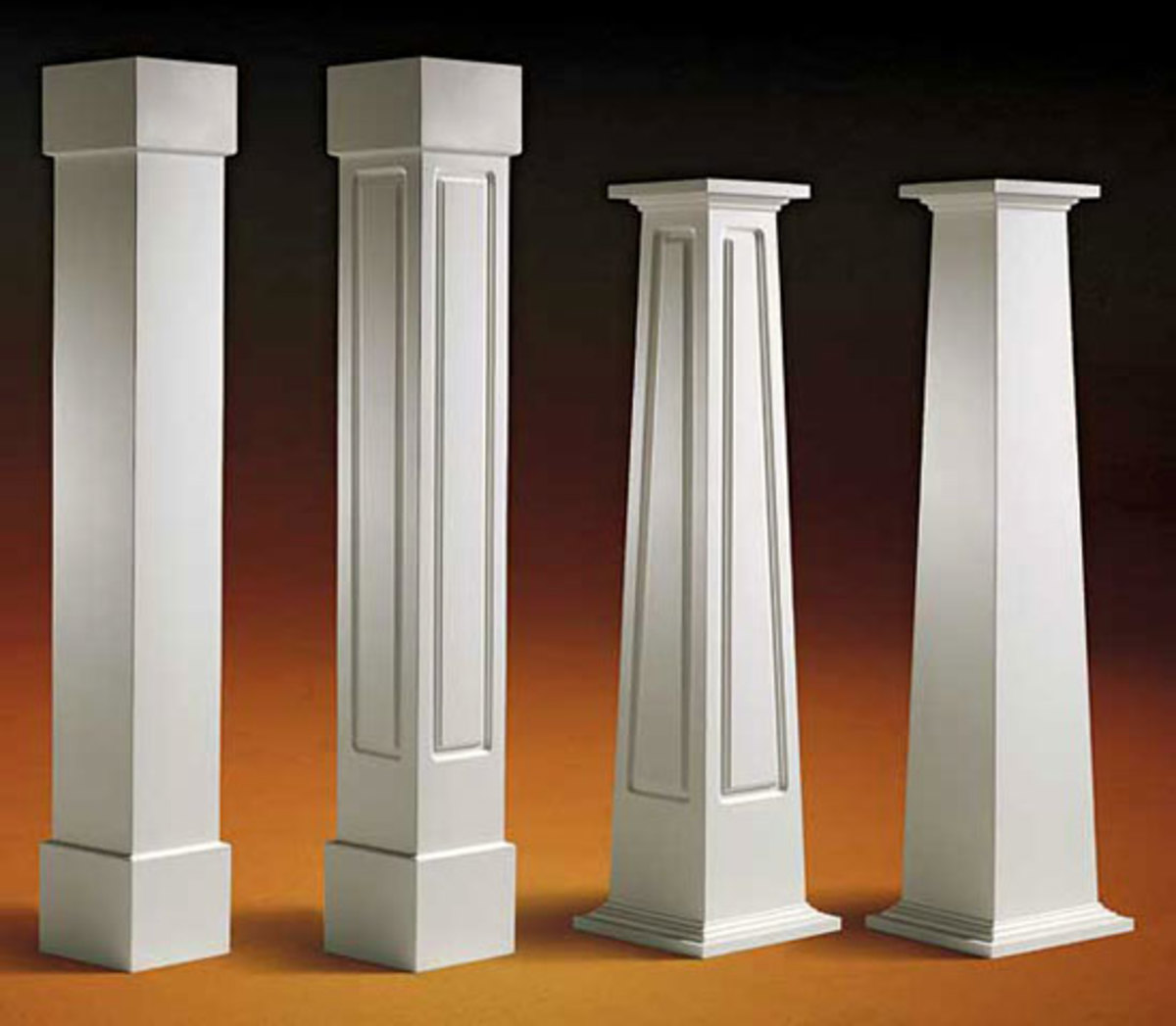 Exterior millwork sources arts crafts homes and the for Prefab columns