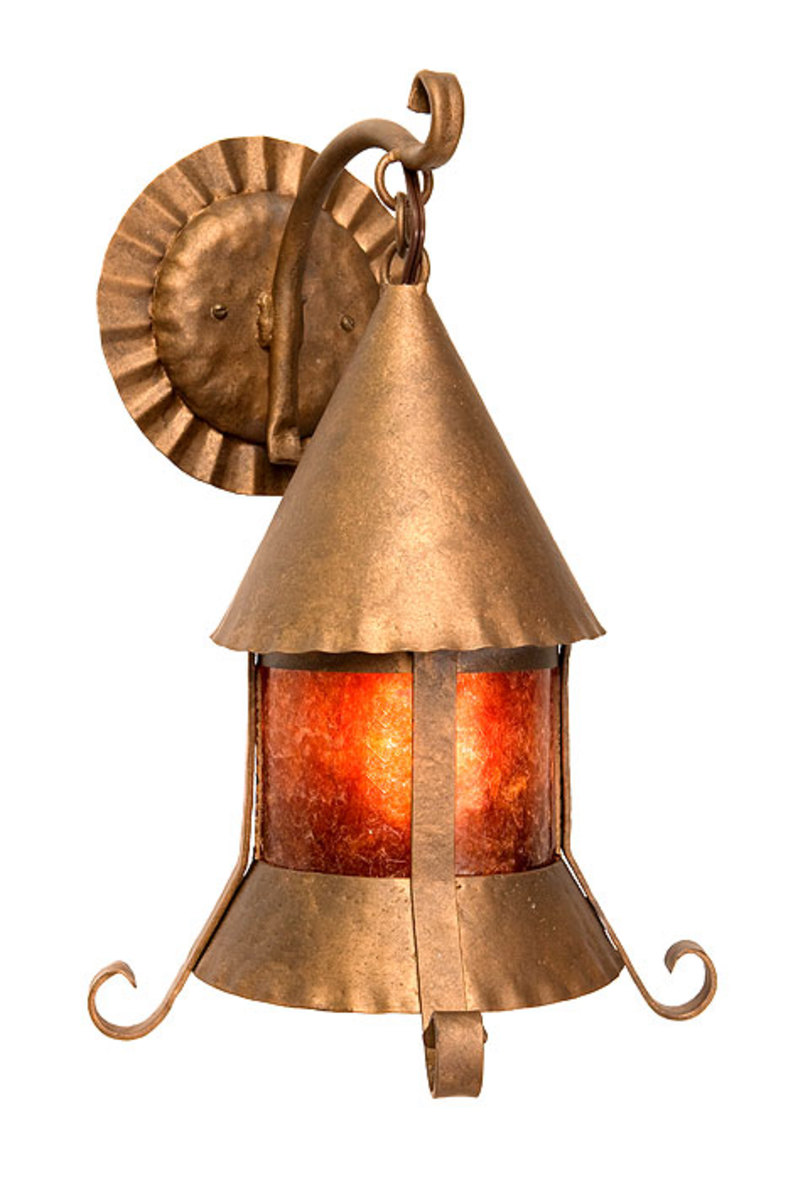 Bronze Sonoma Sconce, Steel Partners, Arts & Crafts exterior lighting