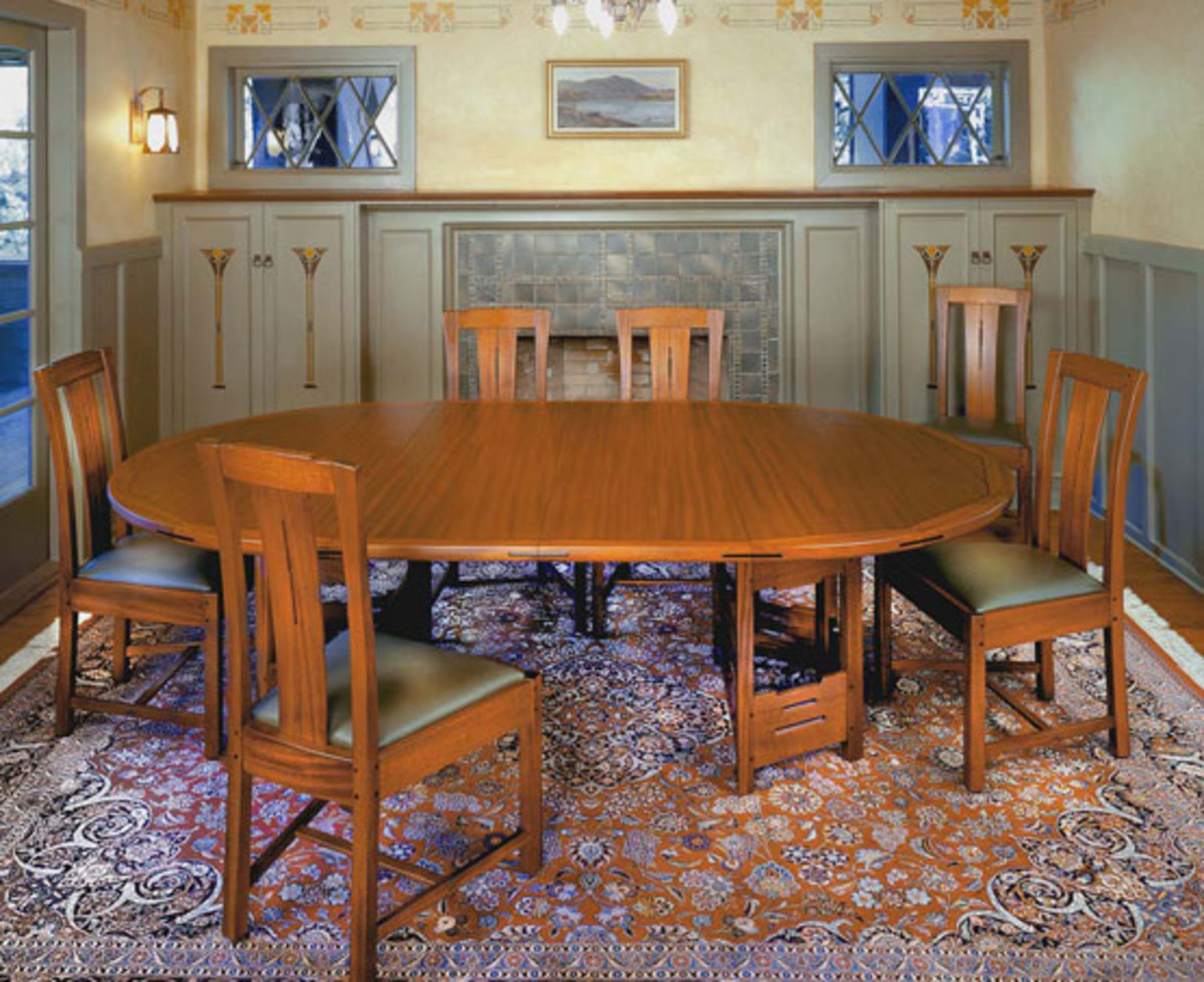 Famous arts crafts furniture makers - Arts and crafts dining room furniture ...