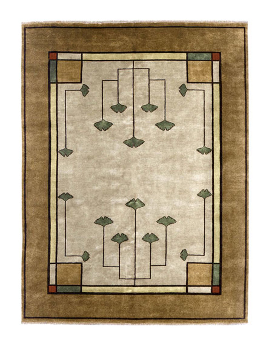 Carpets and rugs for arts crafts style homes arts for Arts and crafts style rug
