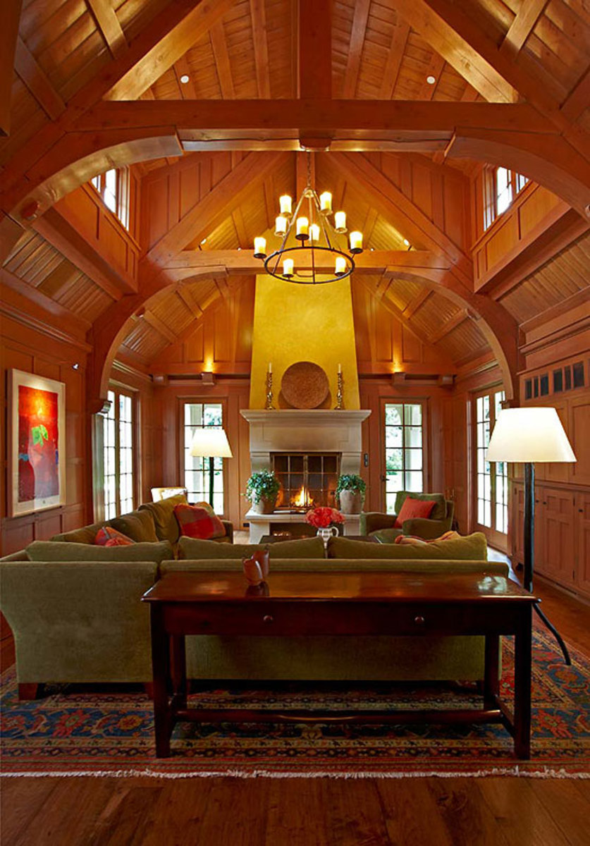 English Paneled Room: Arts & Crafts Homes And The