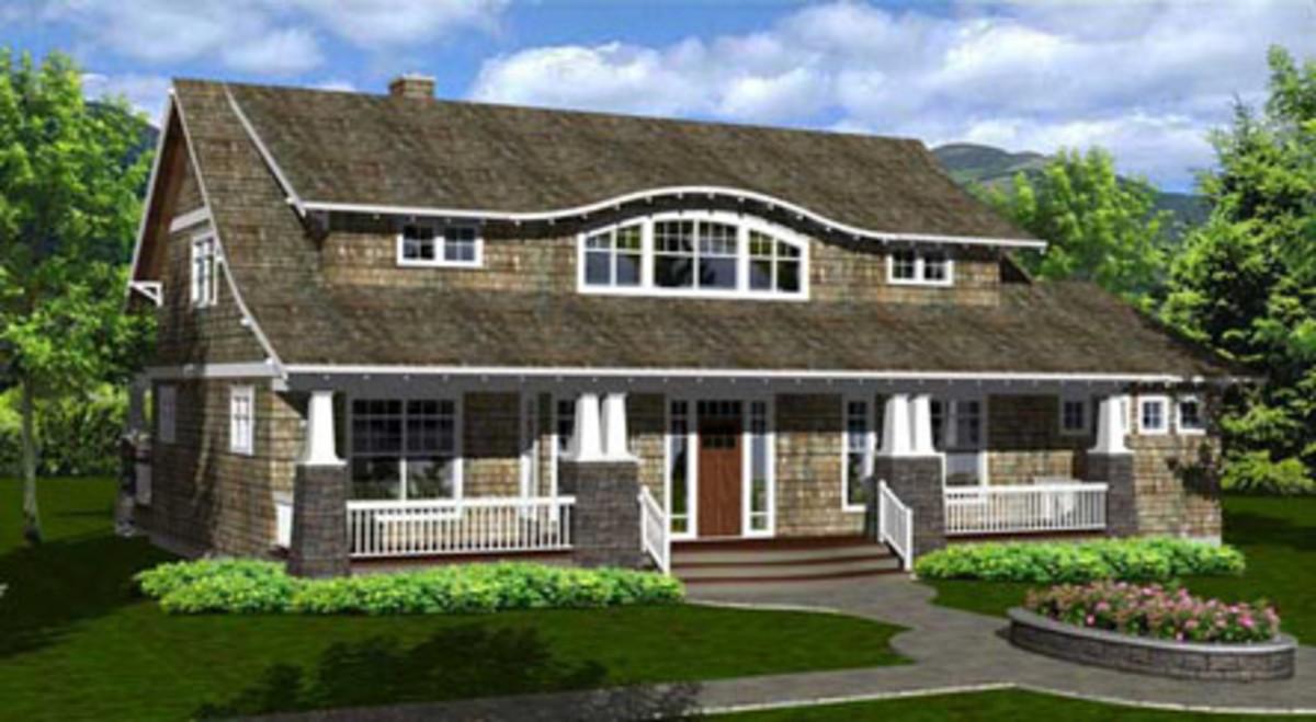 Tiny Home Designs: Arts & Crafts Revival Design