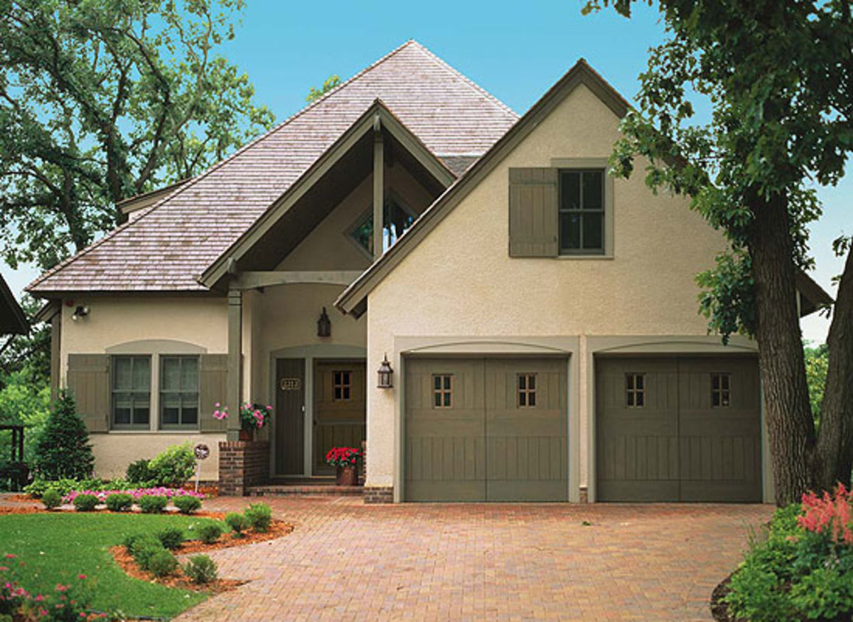 Garage design garage doors arts crafts homes and the for Arts and crafts garage
