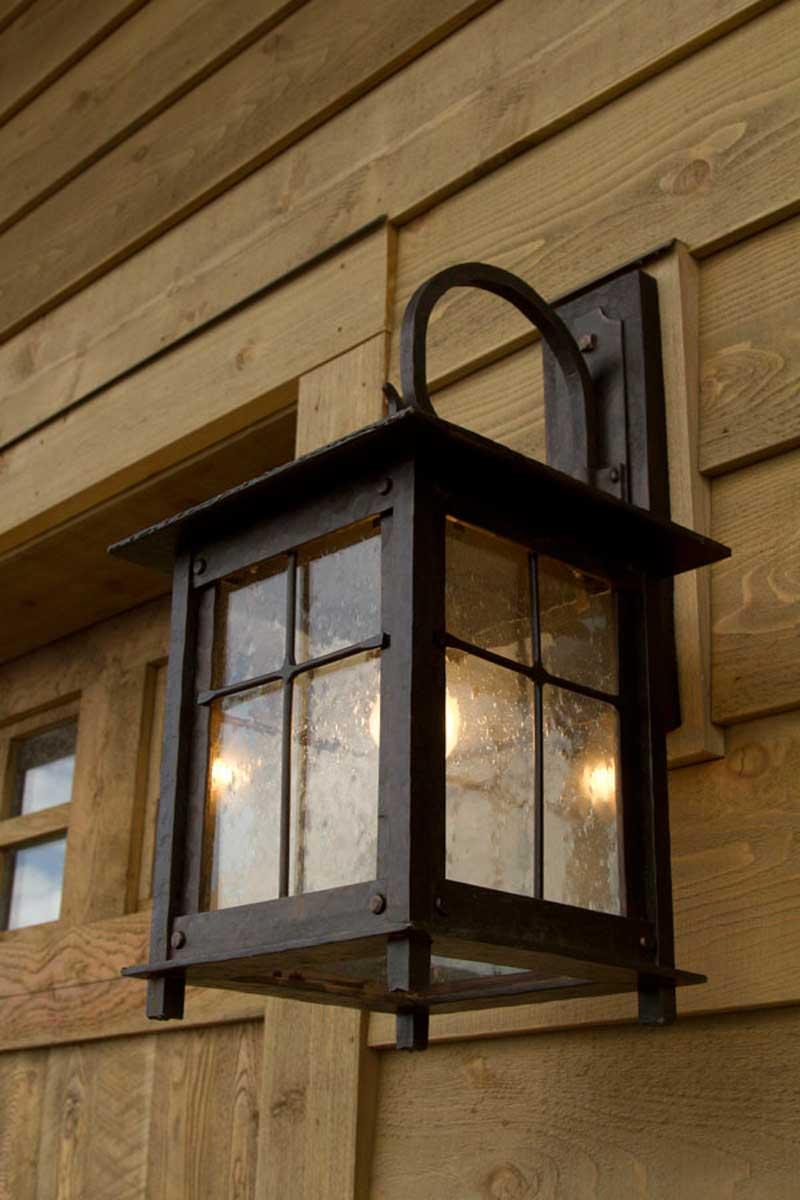 'Roycroft' sconce from IronGlass Lighting