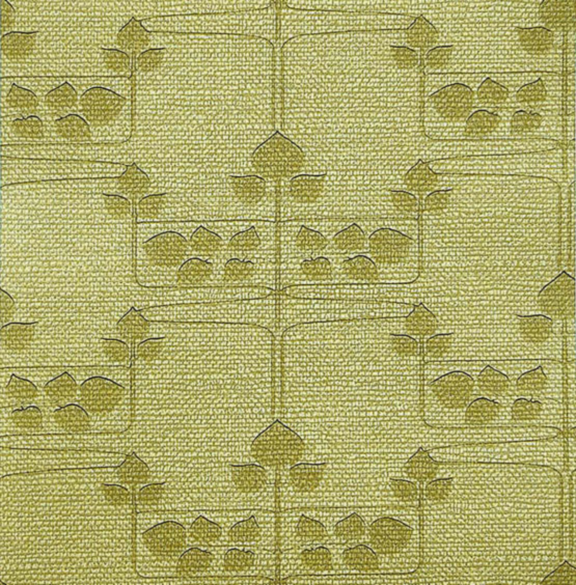 'Stencil Burlap' is a patterned fabric from Historic Style.
