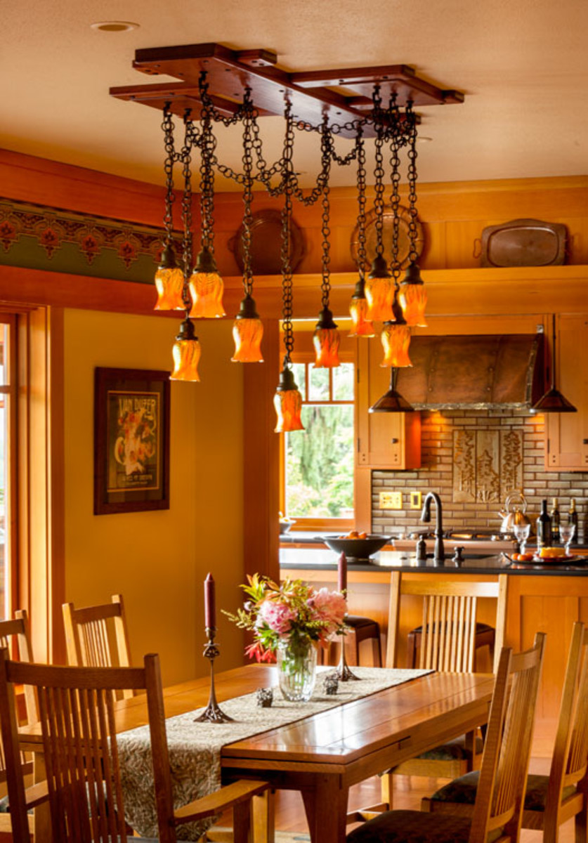 dining-room chandelier