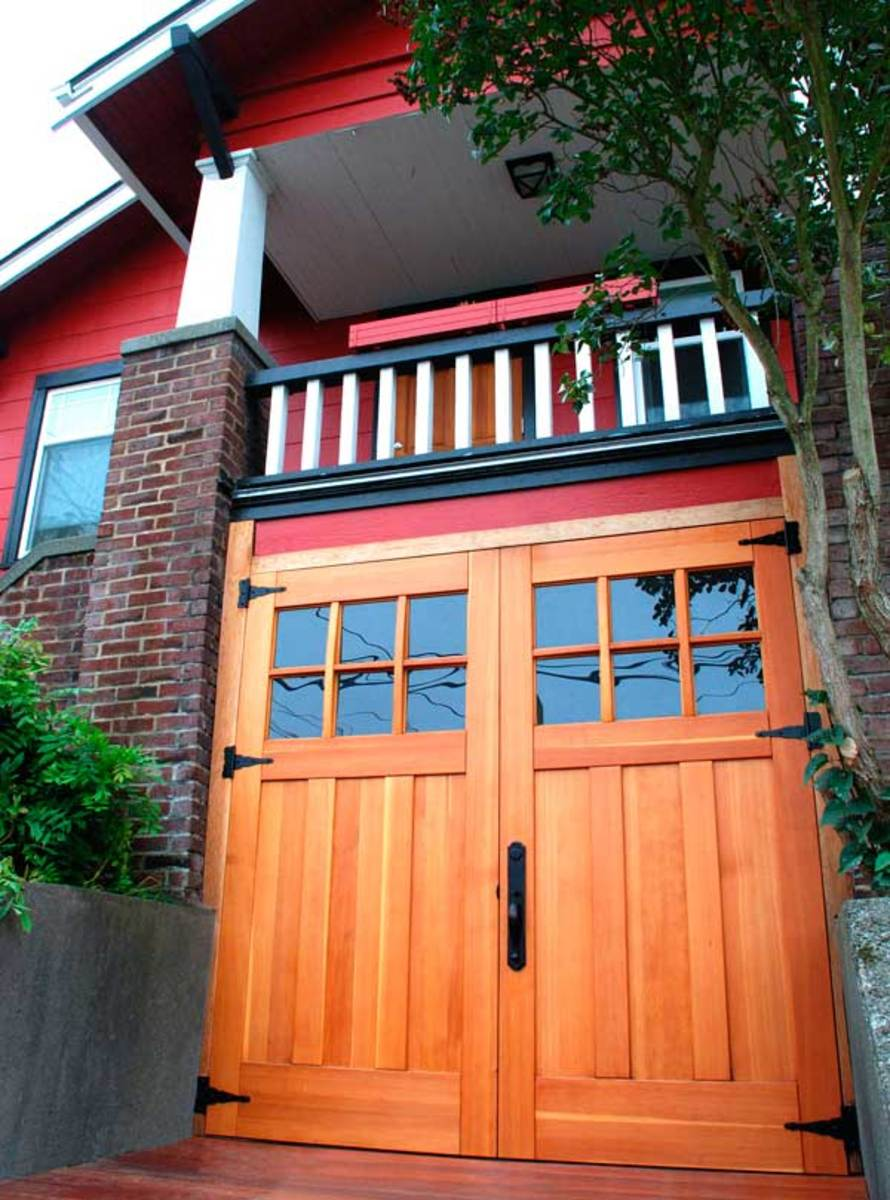 New Garages That Blend In Arts Amp Crafts Homes And The