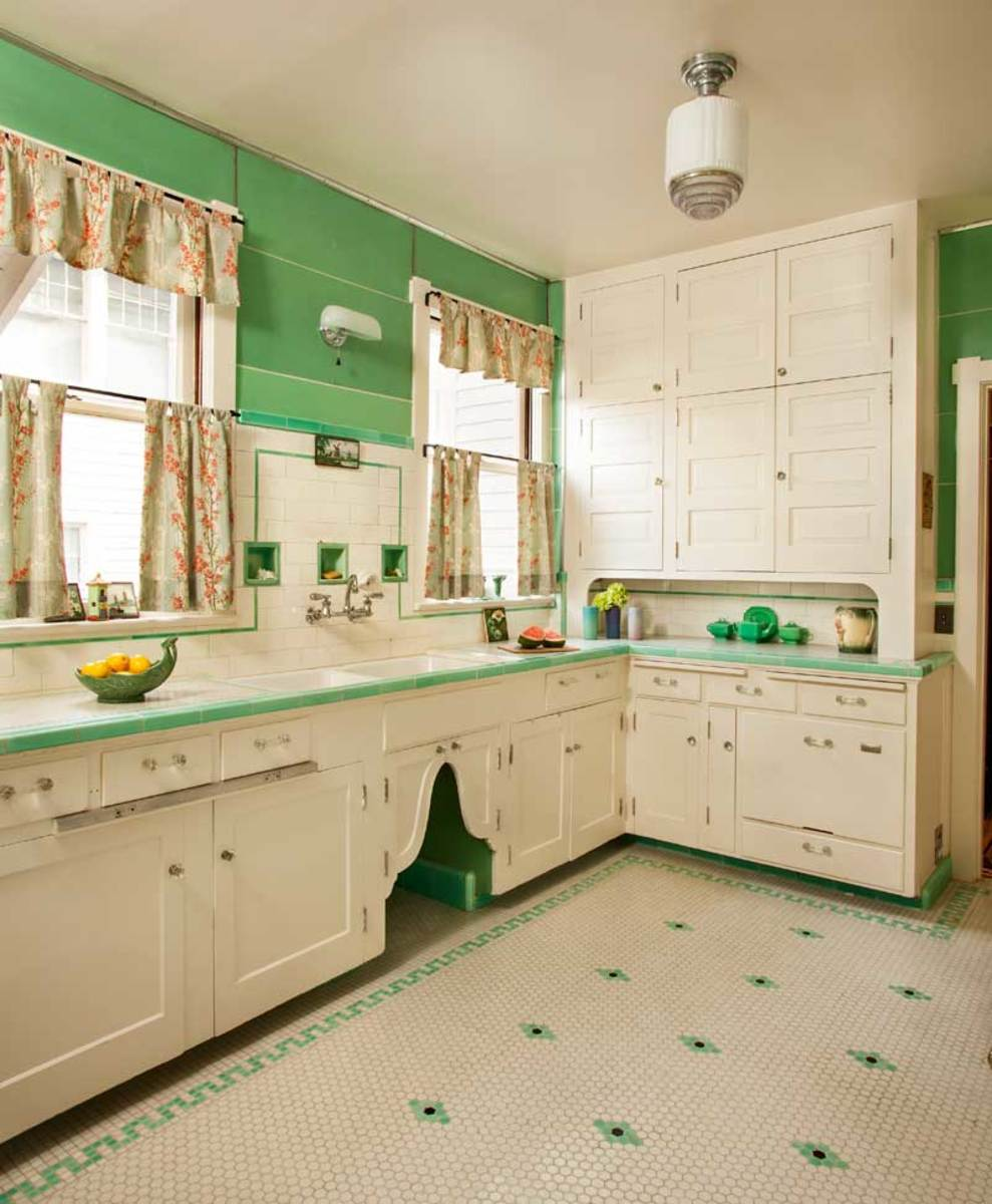 Kitchen in Mint Condition - Design for the Arts \u0026 Crafts House | Arts \u0026 Crafts Homes Online & Kitchen in Mint Condition - Design for the Arts \u0026 Crafts House ...
