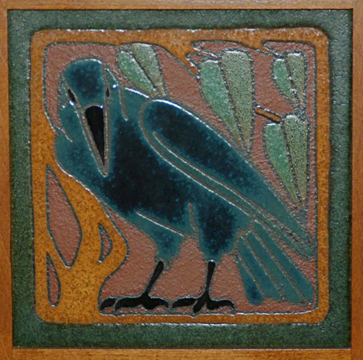 original Van Briggle tile