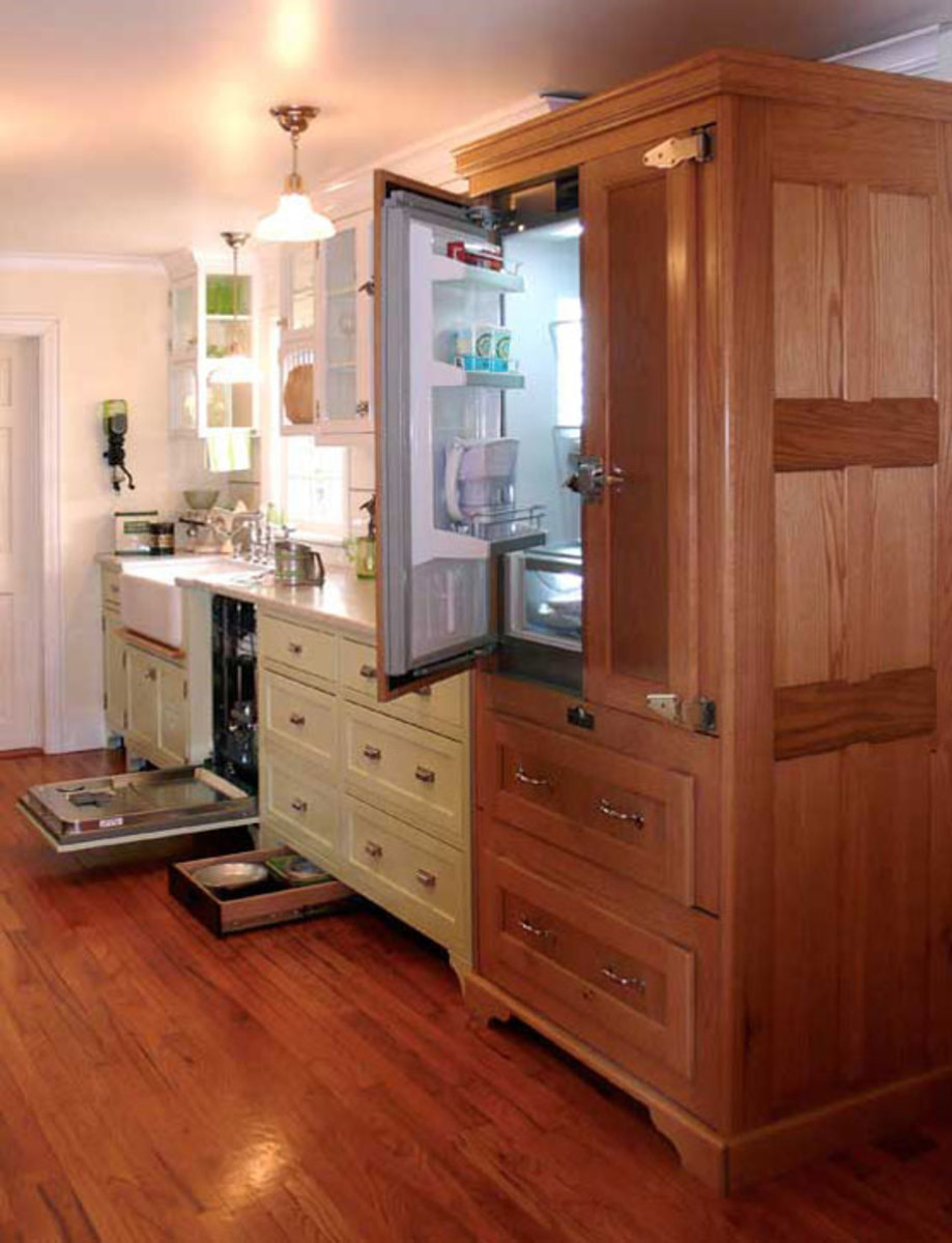 Magnificent Refrigerators That Look Like Cabinets 555 x 725 · 70 kB · jpeg