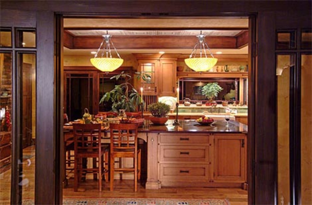 3 Arts Crafts Kitchens Design For The House