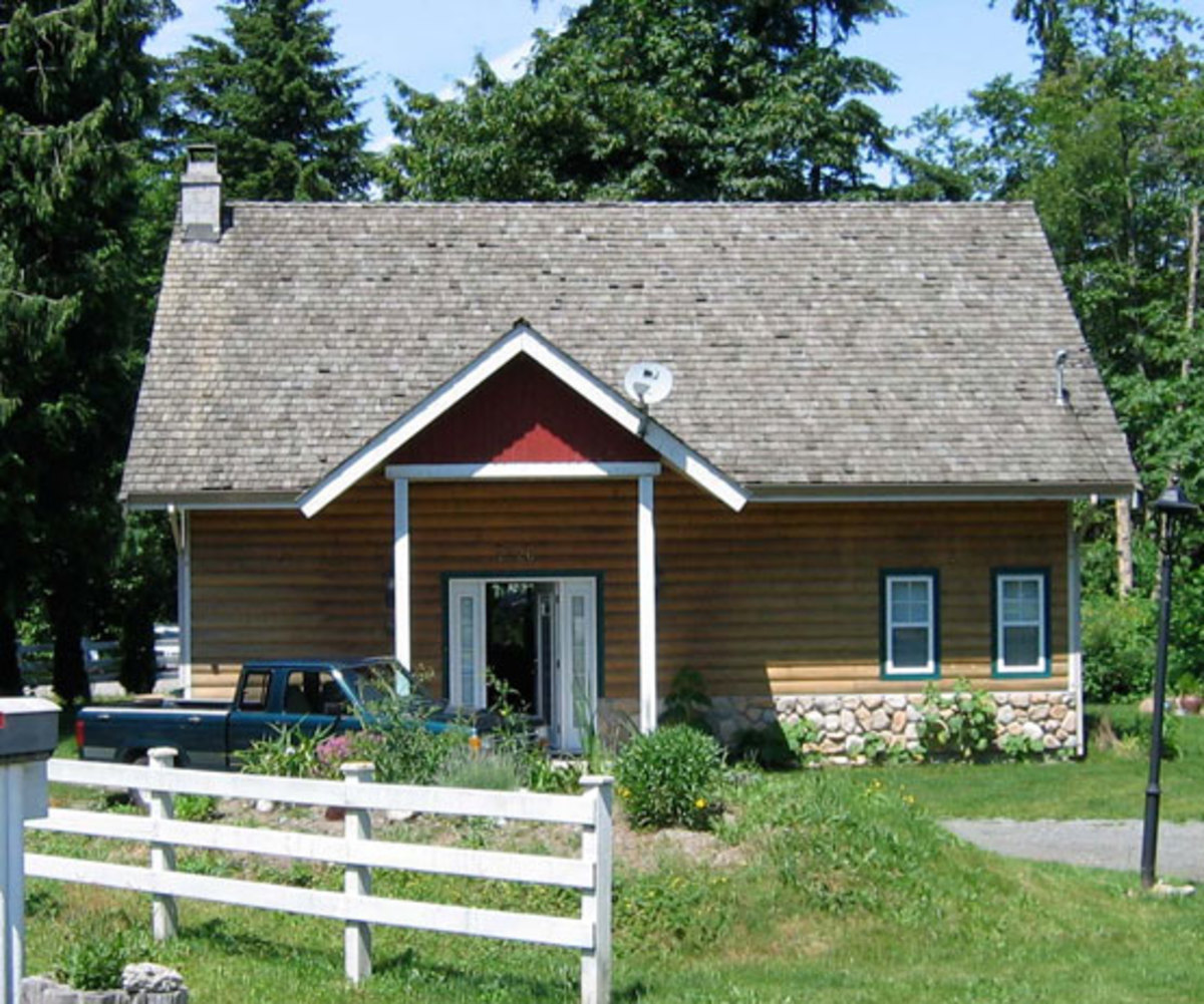 Log Cabin Bungalow : Tiny cabin to craftsman bungalow design for the arts