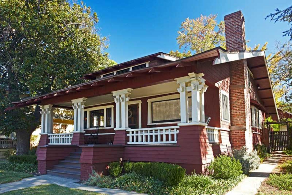1909 California Bungalow Design For The Arts Amp Crafts