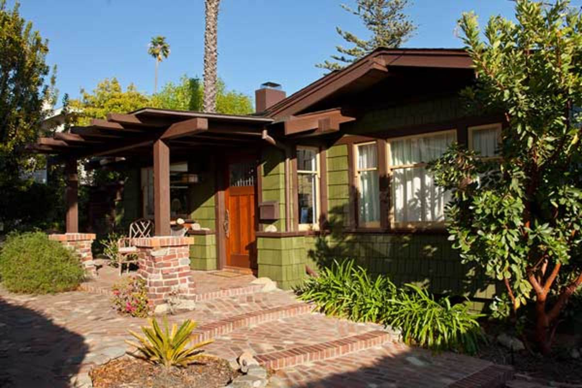 The Bungalow Haven neighborhood, Arts & Crafts movement in California