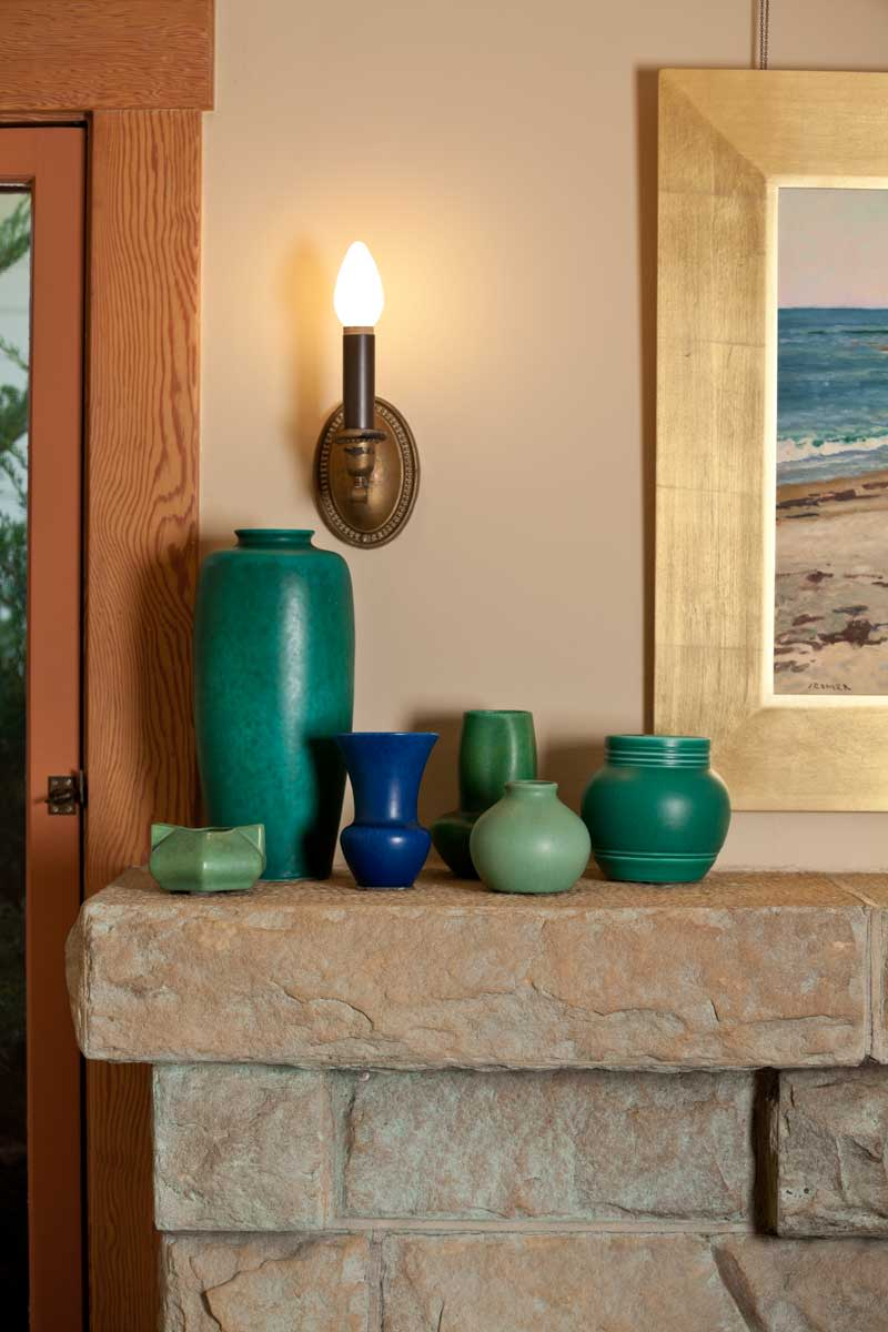 sandstone mantel shelf