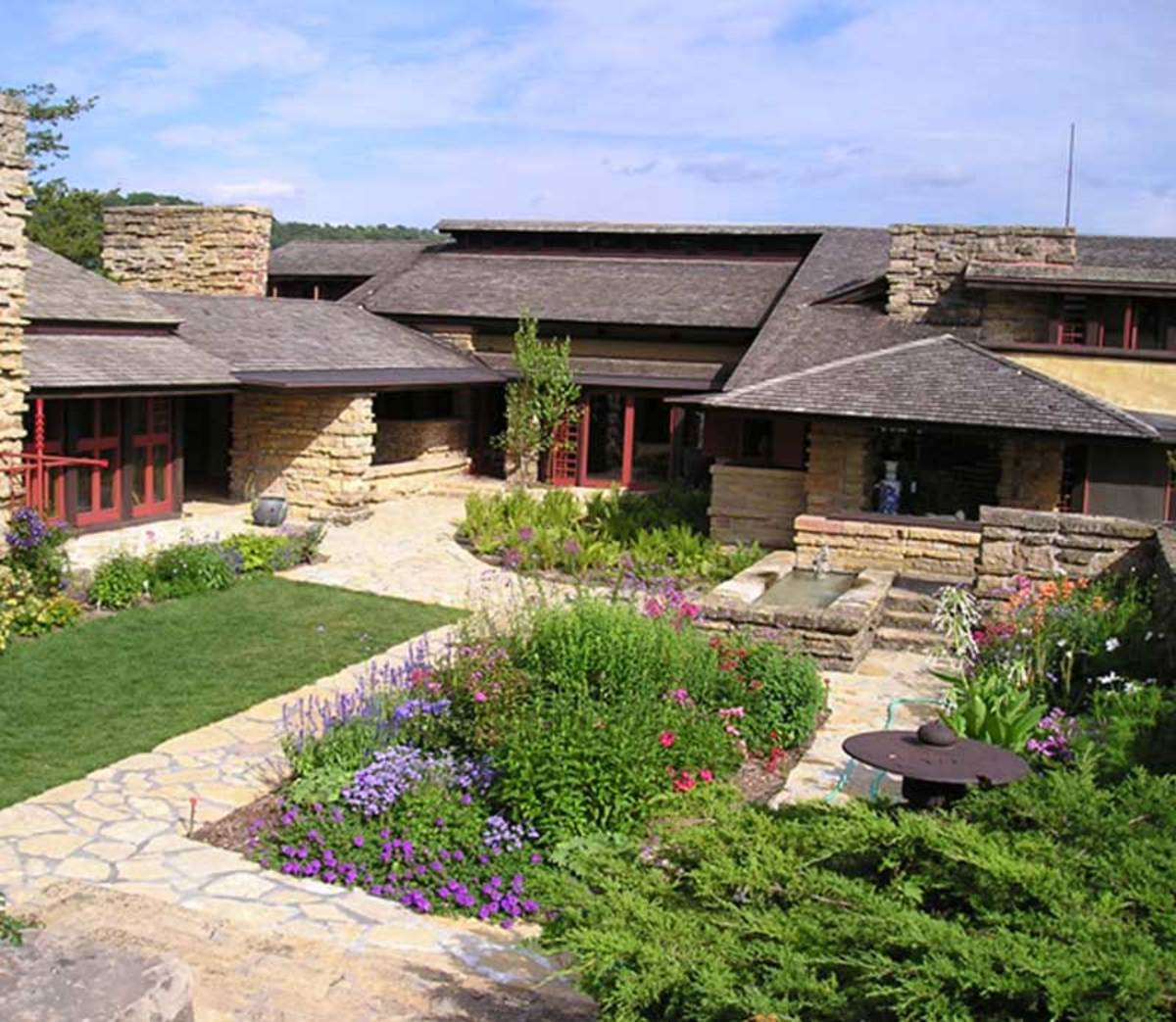 Pilgrimage Taliesin Frank Lloyd Wright At Home Design