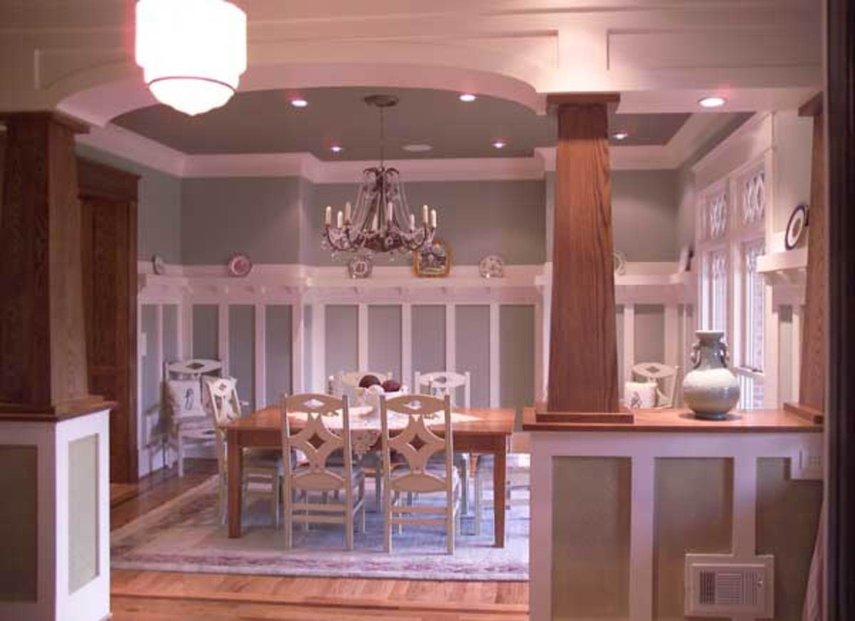 Arts and Crafts House Dining Room