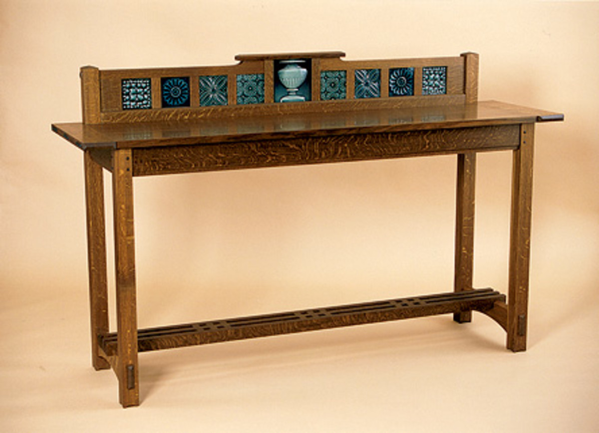 Arts And Crafts Furniture on arts and crafts style tiles