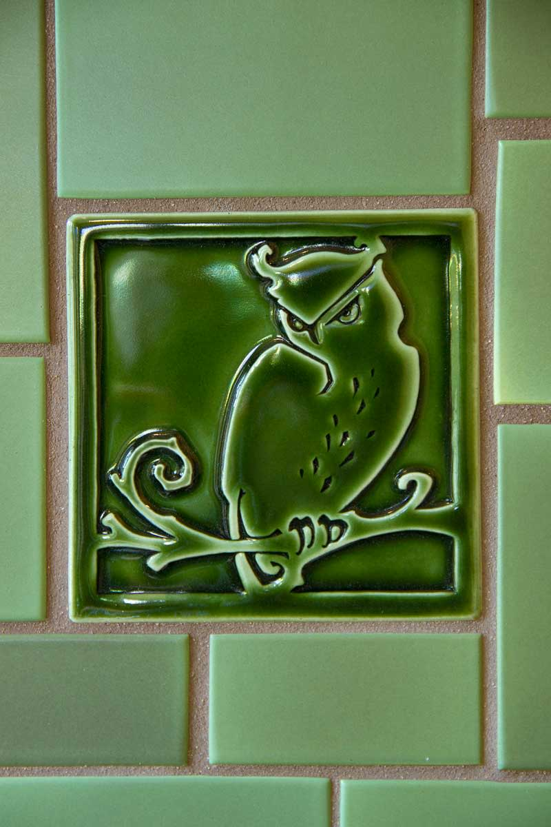 Craftsman tile makers design for the arts crafts house for Teli decorativi
