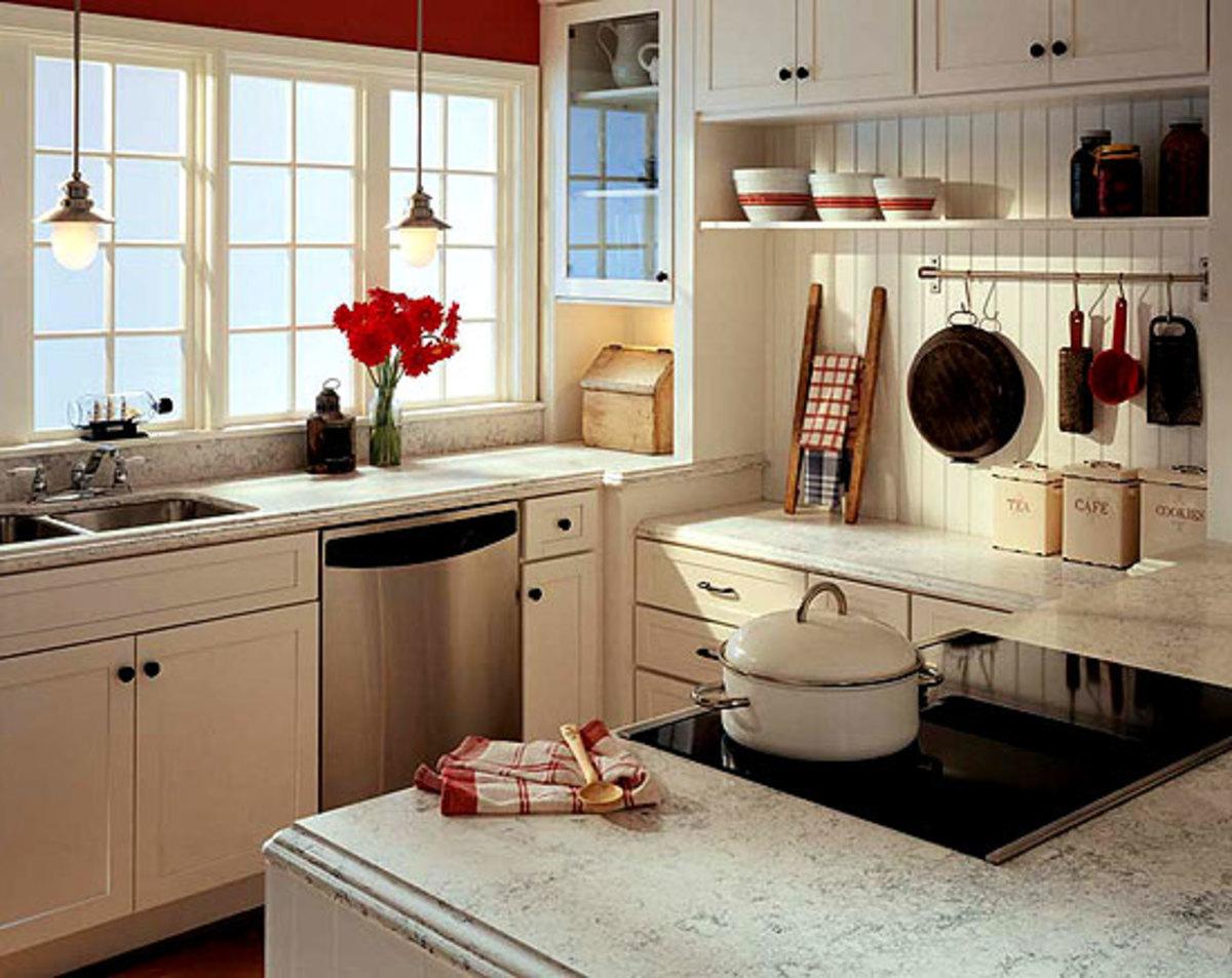 Kitchen sinks countertops go trendy or timeless arts for Okite countertops