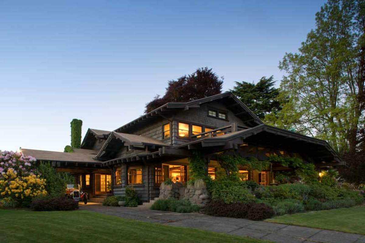 Dreaming up a craftsman in portland oregon arts for Portland craftsman homes