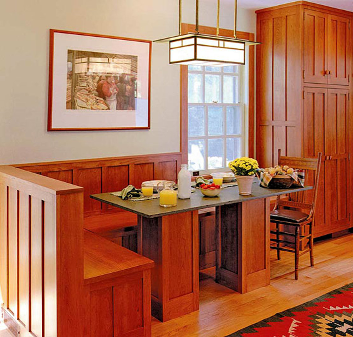 Kitchen Nook Lighting: Lighting To Accent And Define