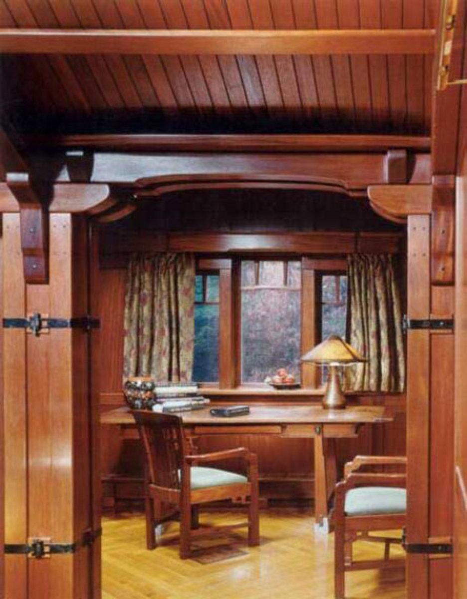 House Wood Paneling: Woodwork, Paneling & Wainscot