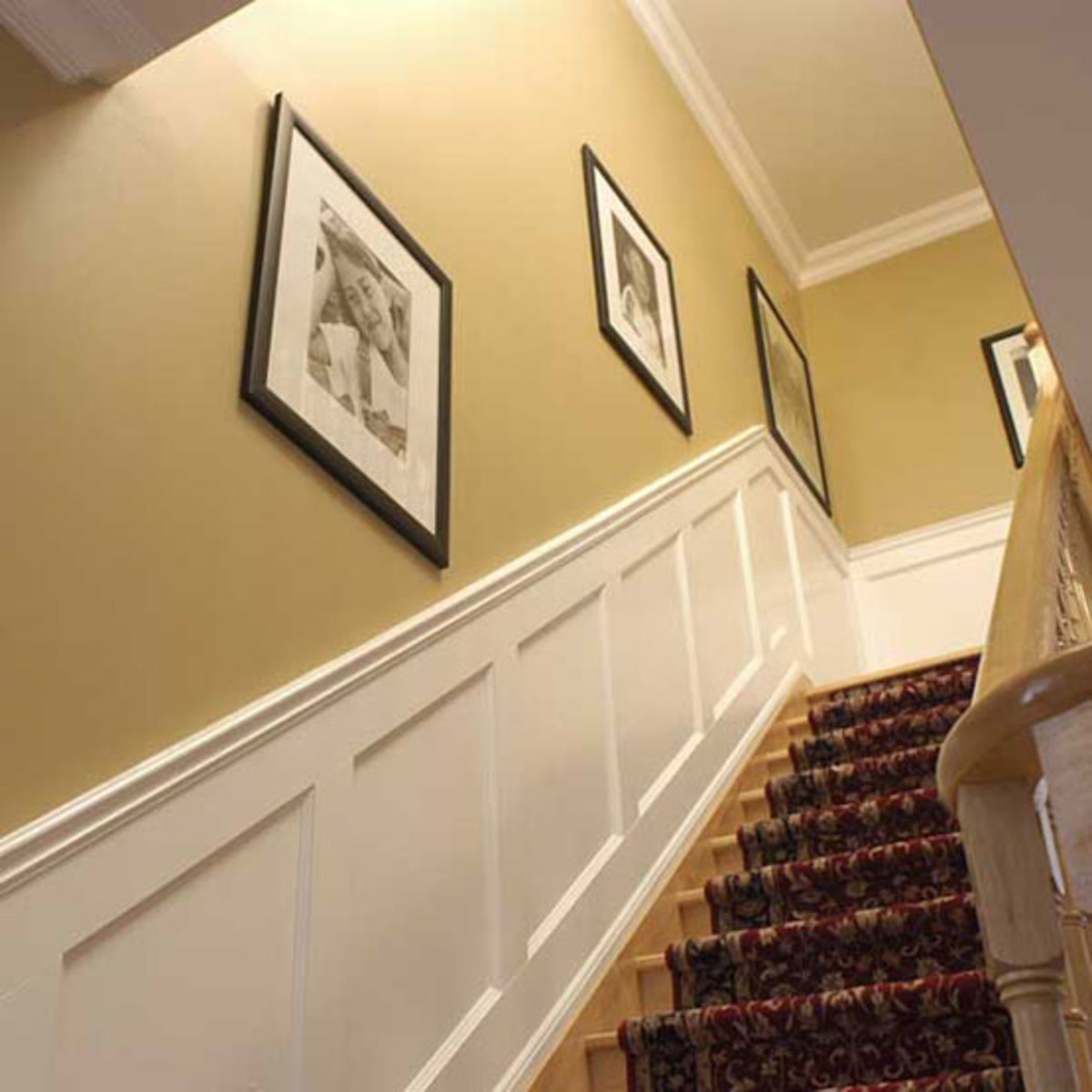 Woodwork paneling wainscot arts crafts homes and for Arts and crafts wainscoting
