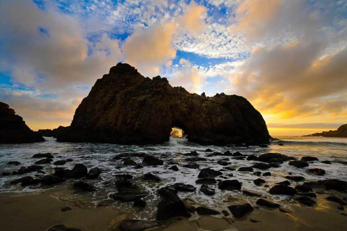 Big Sur sunrise.