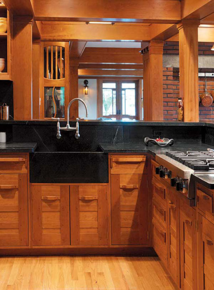 Arts And Crafts Kitchen Design Ideas ~ Craftsman kitchen cabinets — arts crafts homes and the