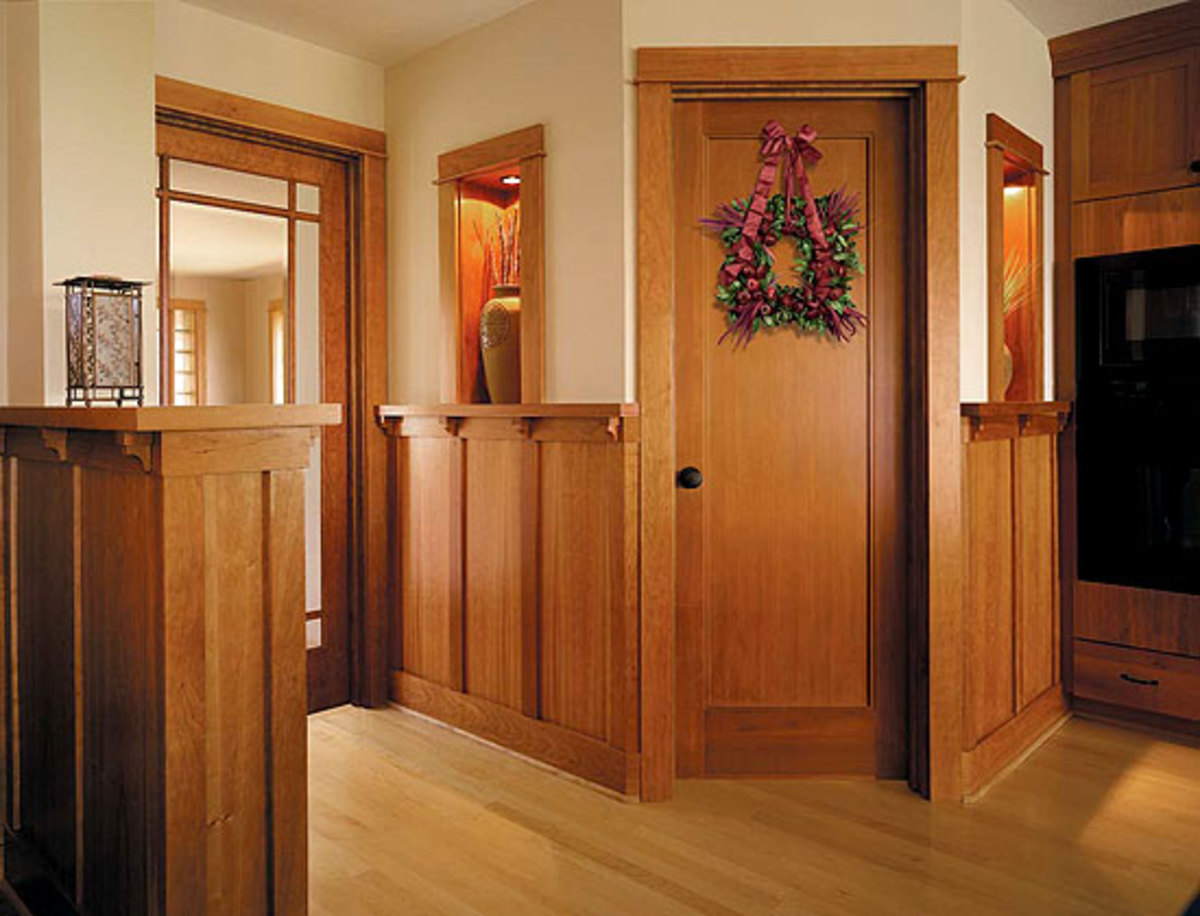 Windows Amp Doors On The Inside Arts Amp Crafts Homes And