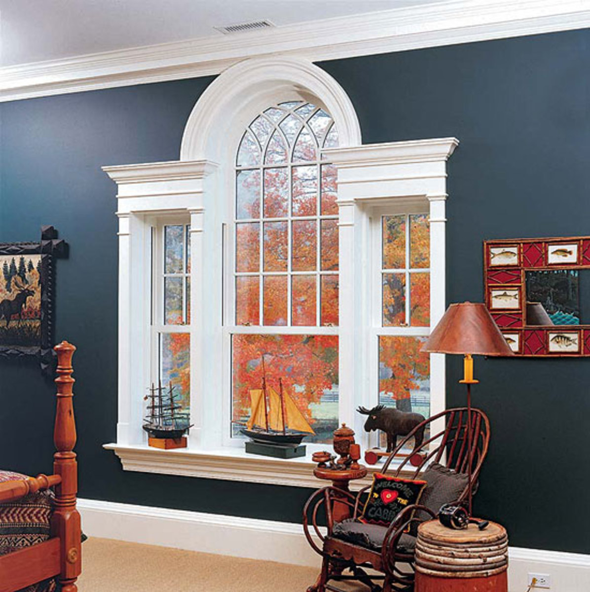 Palladian window from Heartwood Fine Windows & Doors