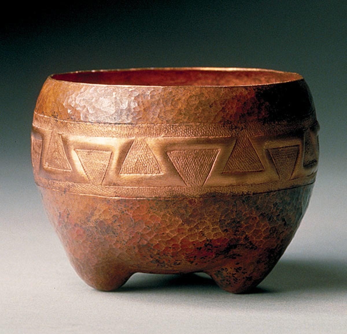 An Aztec bowl