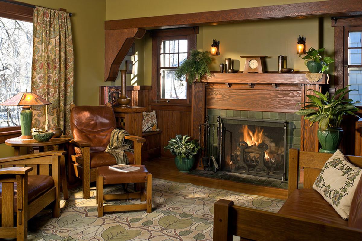 Interior Color Palettes for Arts & Crafts Homes - Arts ...