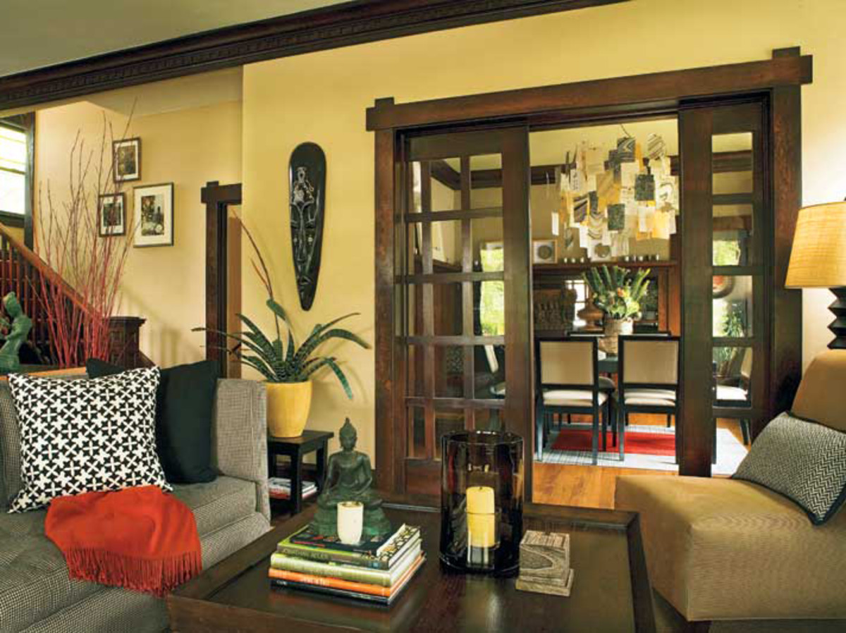 Sliding Pocket Doors Design For The Arts Amp Crafts House